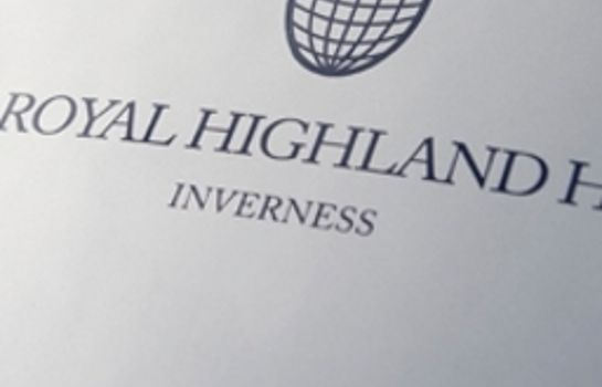 Certificate/Logo Royal Highland