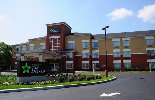 Vue extérieure Extended Stay America East Rut