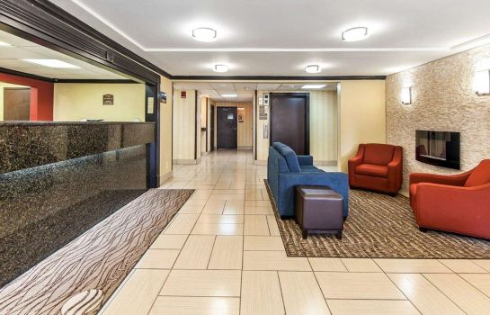 Hotelhalle Comfort Inn & Suites Cleveland