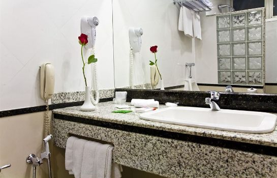 Bagno in camera Lord Manaus Hotel