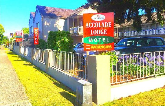 Exterior view Accolade Lodge Motel
