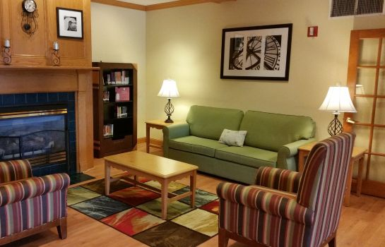 Lobby COUNTRY INN SUITES NORMAL WEST