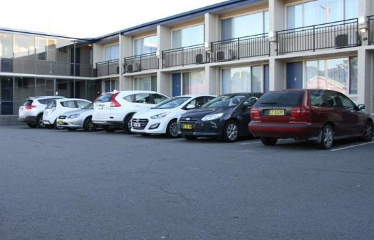 Außenansicht Citigate Motel Newcastle