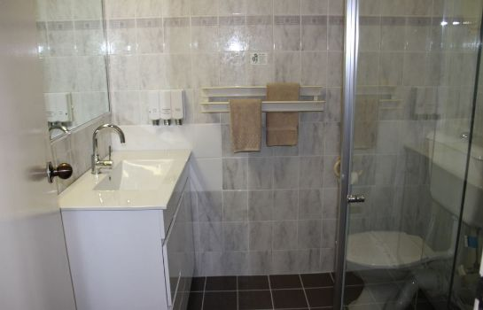 Bagno in camera Citigate Motel Newcastle