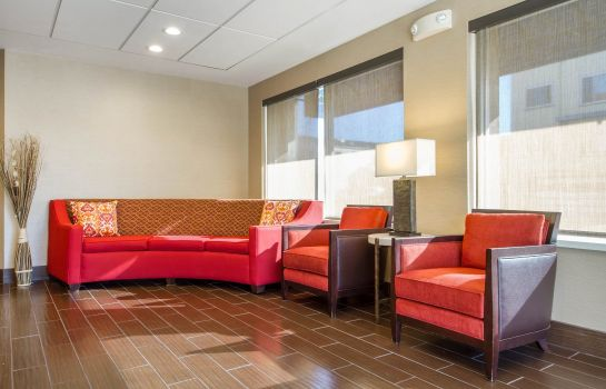 Lobby Comfort Inn & Suites San Francisco Airport West