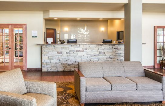 Vestíbulo del hotel Quality Inn & Suites Liberty Lake - Spokane Valley