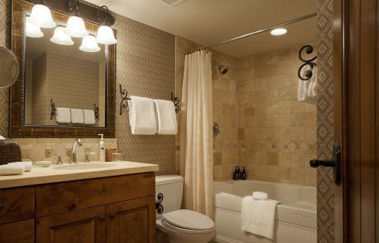 Badezimmer Teton Mountain Lodge and Spa - A Noble House Resort