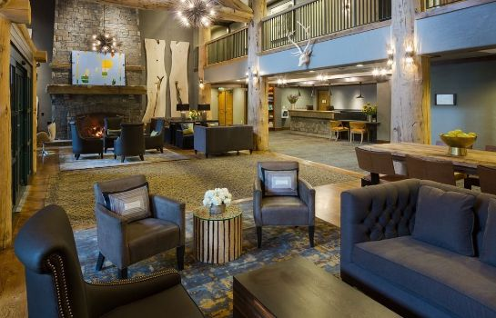 Hotelhalle Teton Mountain Lodge and Spa - A Noble House Resort