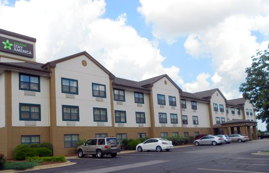 Vue extérieure EXTENDED STAY AMERICA CHAMPAIG