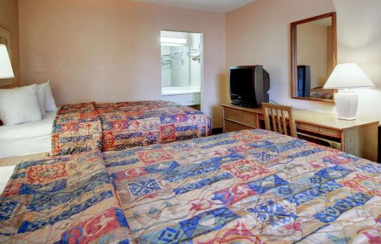 Chambre double (confort) Econo Lodge North