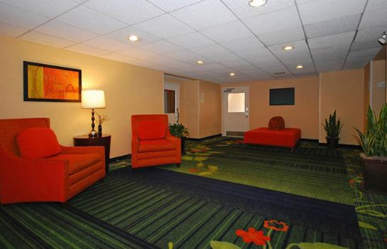 Hotelhalle Fairfield Inn Boston Dedham