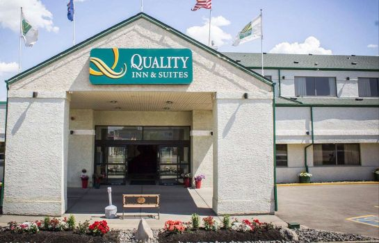 Vista esterna Quality Inn & Suites Edmonton International Airport