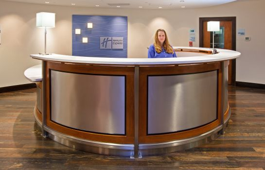 Hotelhalle Holiday Inn Express INDIANAPOLIS - FISHERS