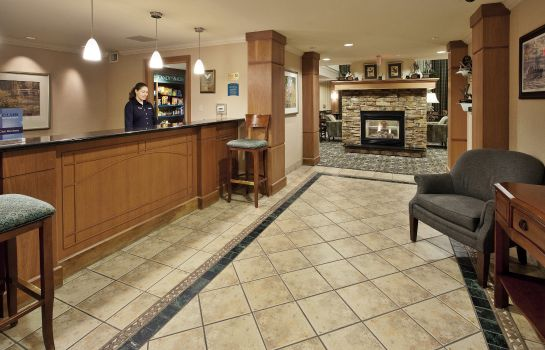 Hall de l'hôtel Homewood Suites by Hilton Portland Airport