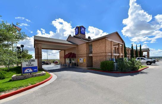 Exterior view Americas Best Value Inn-Anthony/El Paso West