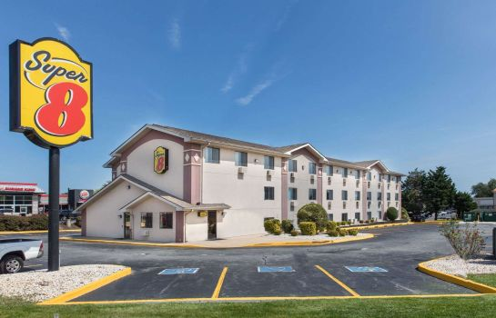 Exterior view Super 8 by Wyndham Aberdeen MD
