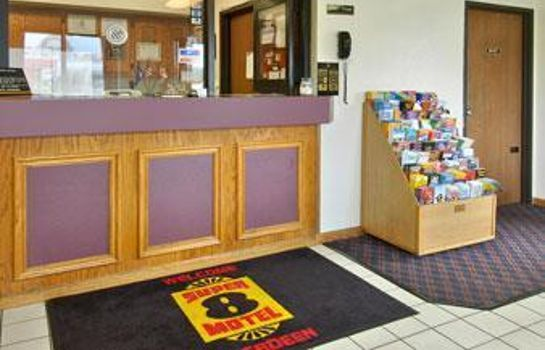 Lobby SUPER 8 ABERDEEN MD