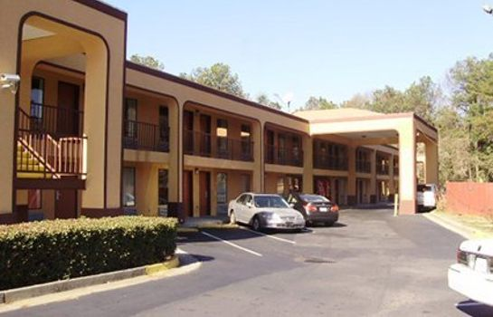 Exterior view Econo Lodge Decatur