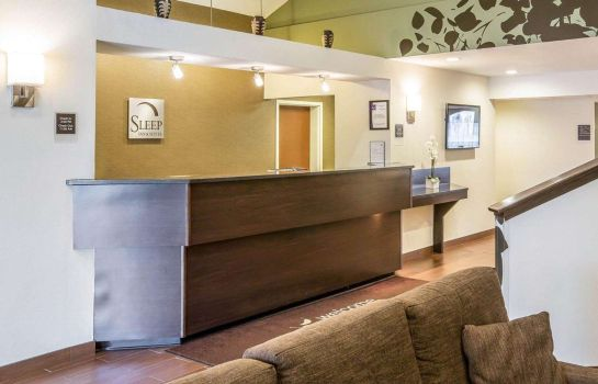 Lobby Sleep Inn & Suites