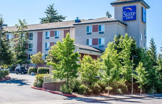 Exterior view Sleep Inn Sea Tac Airport