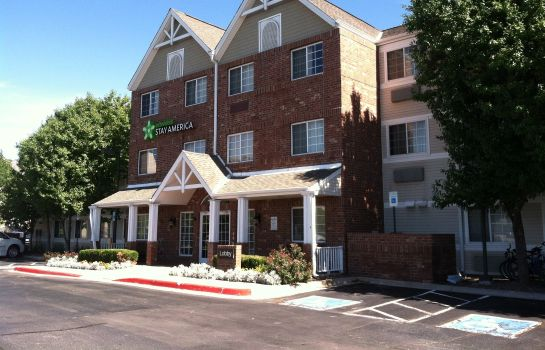 Exterior view Extended Stay America Greenwoo