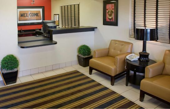 Lobby Extended Stay America Blue Lag