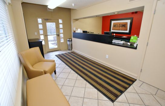 Hotelhalle Extended Stay America - Raleigh - Crabtree Valley