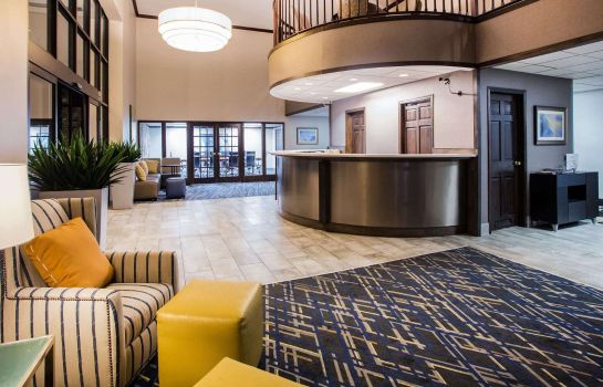 Hotelhalle BAYMONT SUITES MADISON WEST