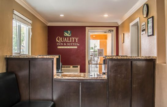 Hol hotelowy Quality Inn & Suites Escondido