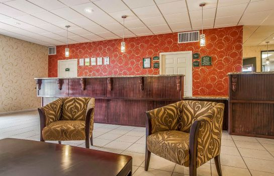 Hol hotelowy Quality Inn and Suites Eufaula