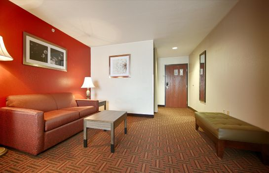 Zimmer BEST WESTERN PLUS MEMORIAL INN