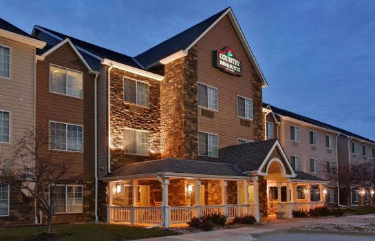 Vista esterna IA  Omaha Airport Country Inn and Suites By Carlson