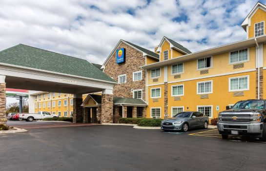 Vista esterna Comfort Inn and Suites Antioch
