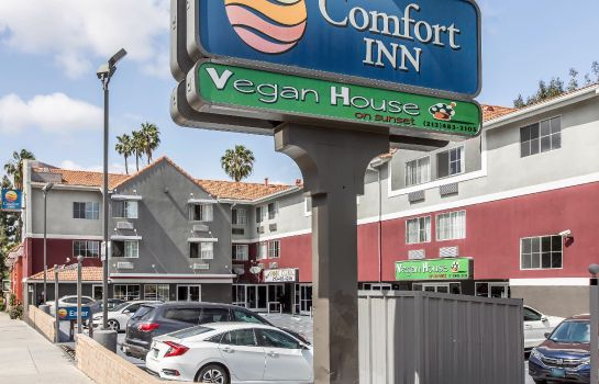 Exterior view Comfort Inn Los Angeles near Hollywood