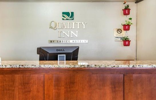 Hotelhalle Quality Inn & Suites Redwood Coast