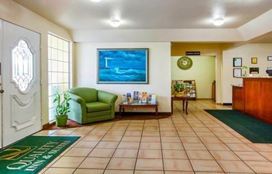 Hol hotelowy Quality Inn & Suites Redwood Coast