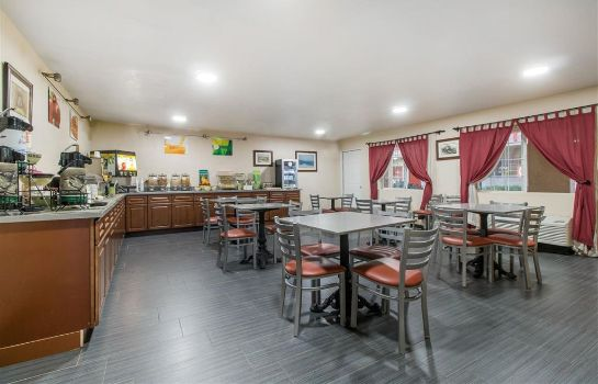 Restaurante Quality Inn and Suites Crescent City Red