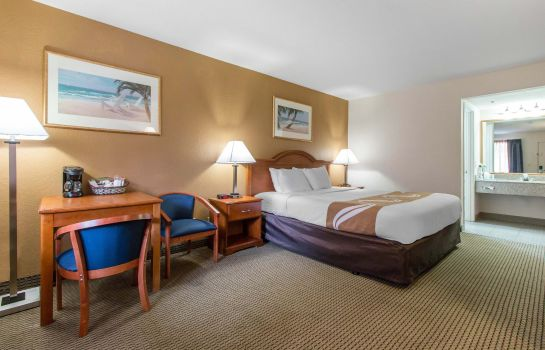 Habitación Quality Inn and Suites Crescent City Red