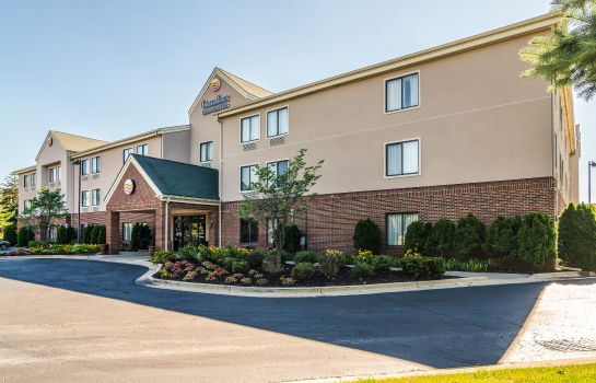 Vue extérieure Comfort Inn and Suites University South