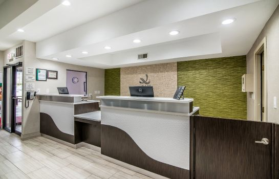 Hotelhalle Quality Inn and Suites Near White Sands