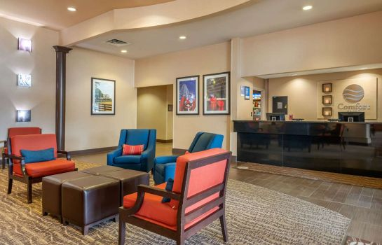 Lobby Comfort Inn DFW Airport North Comfort Inn DFW Airport North