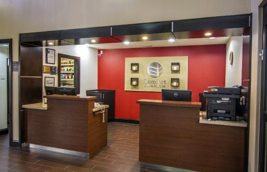 Hotelhalle Comfort Inn & Suites Love Field-Dallas Market Center