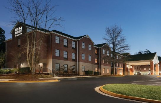 Vista exterior Four Points by Sheraton Raleigh Arena