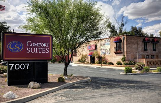 Außenansicht Comfort Suites at Sabino Canyon