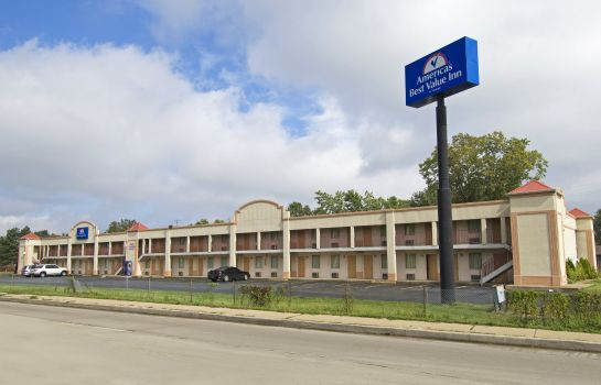 Widok zewnętrzny Americas Best Value Inn-Indy South