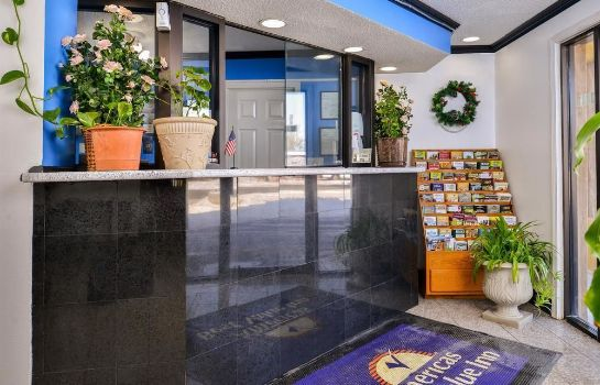 Recepcja Americas Best Value Inn-Indy South