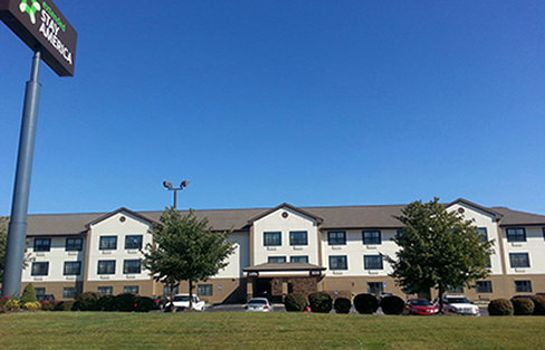 Exterior view Extended Stay America S Ft Way