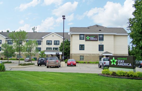 Exterior view Extended Stay America Eden Pra