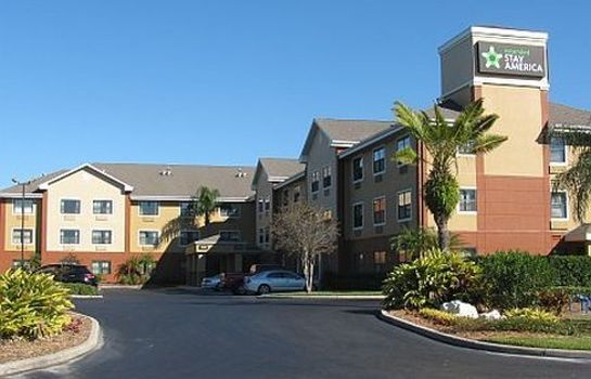 Buitenaanzicht EXTENDED STAY AMERICA CLEARWTR