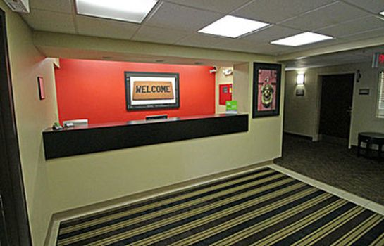 Hotelhalle EXTENDED STAY AMERICA AMHERST